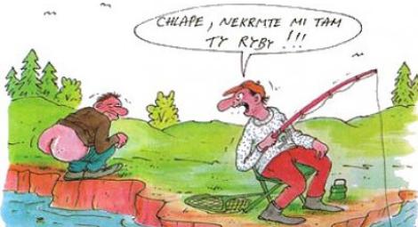 Kreslene Vtipy Opet Zacala Sezona Rybareni Vtipnice Eu