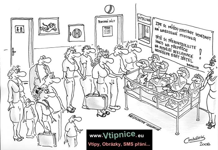Vtipy Kreslene Porodnice Vtipnice Eu