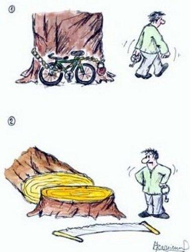 Kreslene Vtipy Kradez Kola Vtipnice Eu