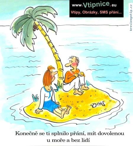 Vtipy Kreslene Dovolena U More Vtipnice Eu